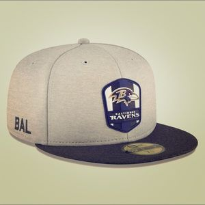 Baltimore Ravens New Era 2018 NFL Fitted Hat